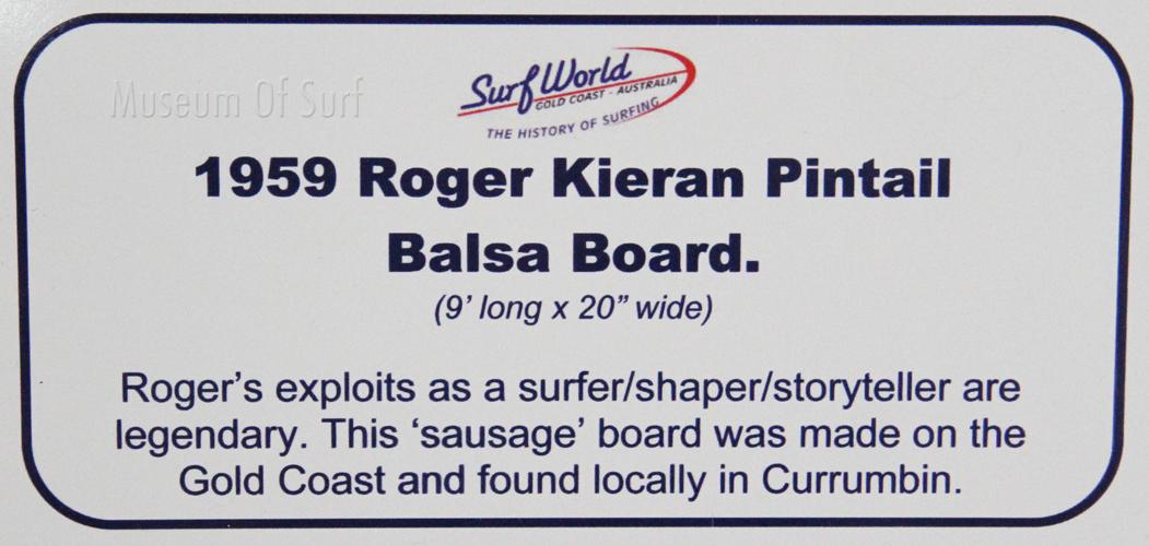 9 2 1 Roger kieran Balsa