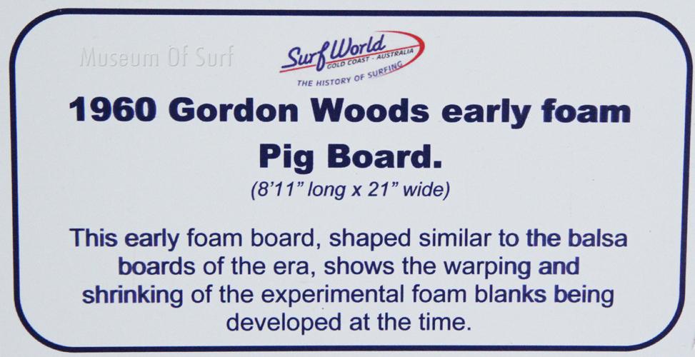 9 5 2 Gordon Woods Foam